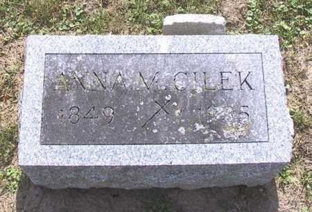 CILEK, ANNA M - Johnson County, Iowa | ANNA M CILEK