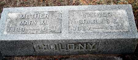 COLONY, MARY M - Johnson County, Iowa | MARY M COLONY