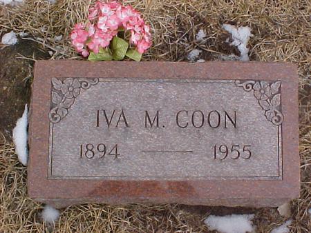 MCBRIDE COON, IVA - Johnson County, Iowa | IVA MCBRIDE COON