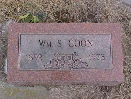 COON, WILLIAM SIDNEY - Johnson County, Iowa | WILLIAM SIDNEY COON