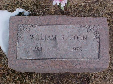 COON, WILLIAM REED - Johnson County, Iowa | WILLIAM REED COON