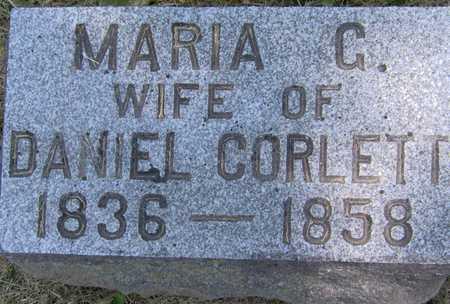 CORLETT, MARIA G - Johnson County, Iowa | MARIA G CORLETT