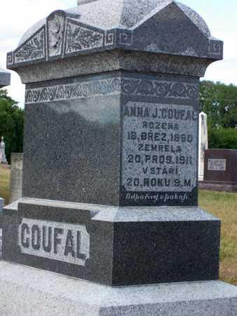 COUFAL, ANNA - Johnson County, Iowa | ANNA COUFAL