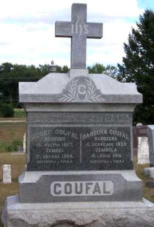 COUFAL, JOSEF - Johnson County, Iowa | JOSEF COUFAL
