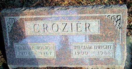 CROZIER, MABELLE - Johnson County, Iowa | MABELLE CROZIER