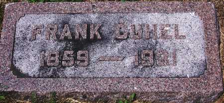 CUHEL, FRANK - Johnson County, Iowa | FRANK CUHEL