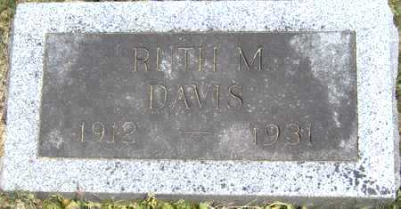 DAVIS, RUTH M - Johnson County, Iowa | RUTH M DAVIS