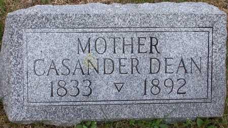 DEAN, CASANDER - Johnson County, Iowa | CASANDER DEAN