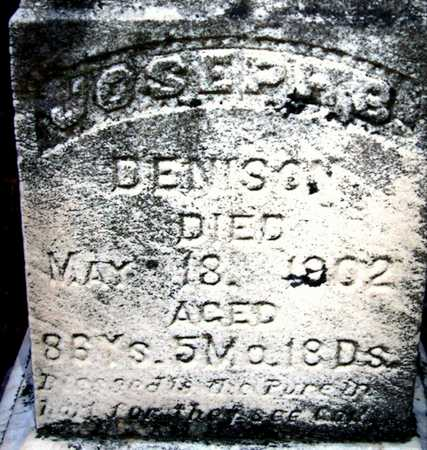 DENISON, JOSEPH B - Johnson County, Iowa | JOSEPH B DENISON