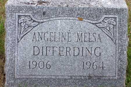 MELSA DIFFERDING, ANGELINE - Johnson County, Iowa | ANGELINE MELSA DIFFERDING