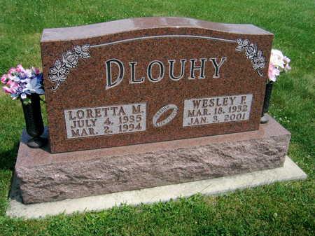 DLOUHY, LORETTA M. - Johnson County, Iowa | LORETTA M. DLOUHY