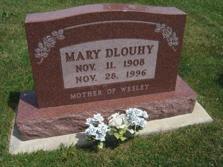DLOUHY, MARY - Johnson County, Iowa | MARY DLOUHY