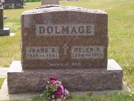 DOLMAGE, FRANK B. - Johnson County, Iowa   FRANK B. DOLMAGE
