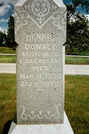 DOWNEY, DENNIS - Johnson County, Iowa   DENNIS DOWNEY