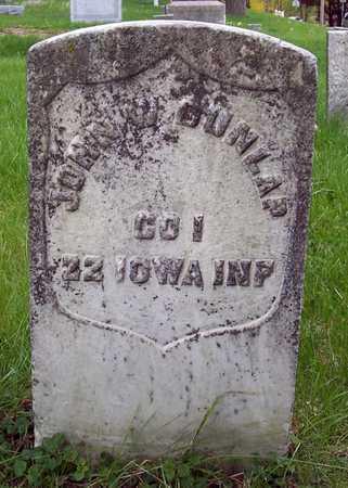DUNLAP, JOHN - Johnson County, Iowa | JOHN DUNLAP
