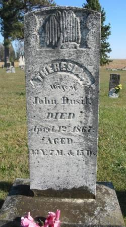 DUSIL, THERESIA - Johnson County, Iowa | THERESIA DUSIL