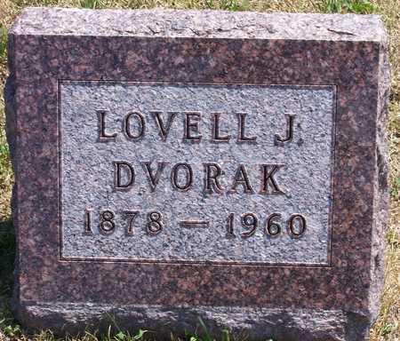 DVORAK, LOVELL - Johnson County, Iowa   LOVELL DVORAK