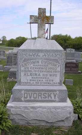 DVORSKY, ANTONIN - Johnson County, Iowa | ANTONIN DVORSKY