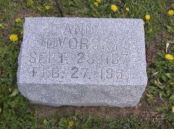 DVORSKY, ANNA - Johnson County, Iowa | ANNA DVORSKY