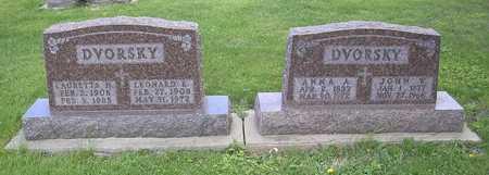 DVORSKY, JOHN W. - Johnson County, Iowa | JOHN W. DVORSKY