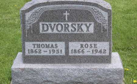 DVORSKY, ROSE - Johnson County, Iowa | ROSE DVORSKY