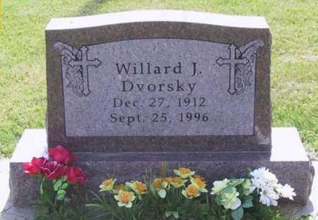 DVORSKY, WILLARD J - Johnson County, Iowa | WILLARD J DVORSKY