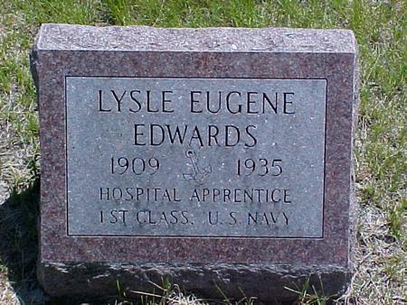 EDWARDS, LYSLE EUGENE - Johnson County, Iowa | LYSLE EUGENE EDWARDS