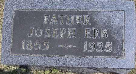 ERB, JOSEPH - Johnson County, Iowa | JOSEPH ERB