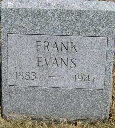 EVANS, FRANK - Johnson County, Iowa   FRANK EVANS
