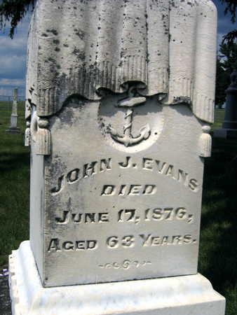 EVANS, JOHN J. - Johnson County, Iowa | JOHN J. EVANS