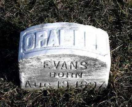 EVANS, ORALLEE - Johnson County, Iowa | ORALLEE EVANS