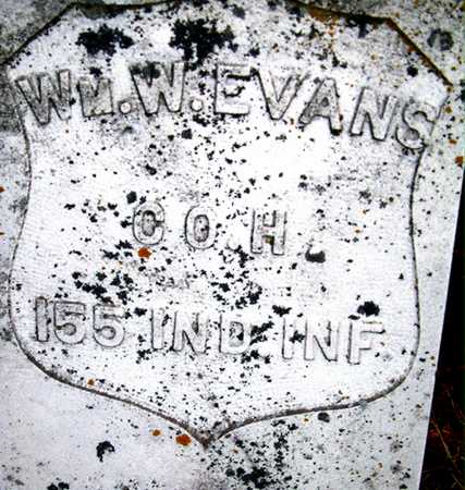 EVANS, WILLIAM W. - Johnson County, Iowa   WILLIAM W. EVANS