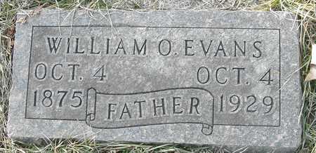 EVANS, WILLIAM O - Johnson County, Iowa | WILLIAM O EVANS