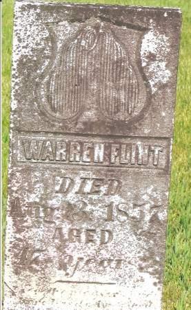FLINT, WARREN - Johnson County, Iowa | WARREN FLINT