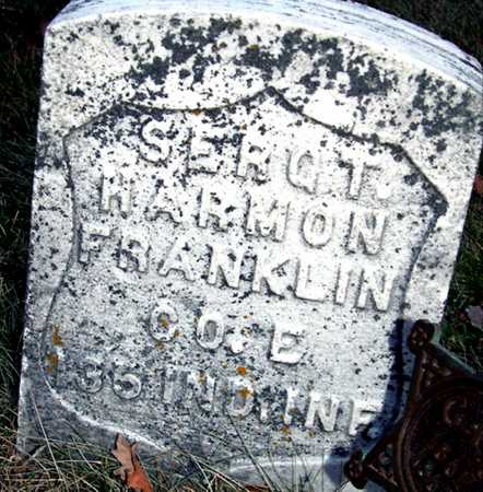 FRANKLIN, HARMON - Johnson County, Iowa | HARMON FRANKLIN