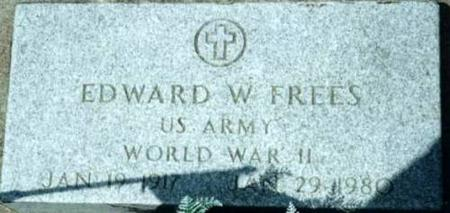 FREES, EDWARD W. - Johnson County, Iowa | EDWARD W. FREES