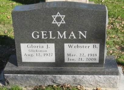 GELMAN, WEBSTER B - Johnson County, Iowa | WEBSTER B GELMAN