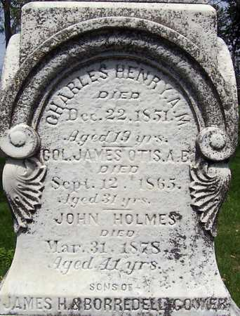 GOWER, COL. JAMES OTIS - Johnson County, Iowa | COL. JAMES OTIS GOWER