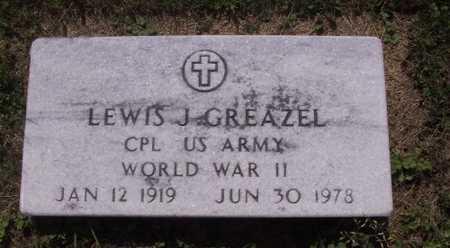 GREAZEL, LEWIS J - Johnson County, Iowa | LEWIS J GREAZEL