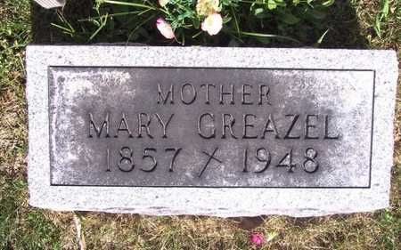 GREAZEL, MARY - Johnson County, Iowa | MARY GREAZEL