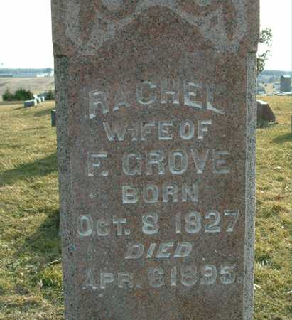 GROVE, RACHEL - Johnson County, Iowa | RACHEL GROVE