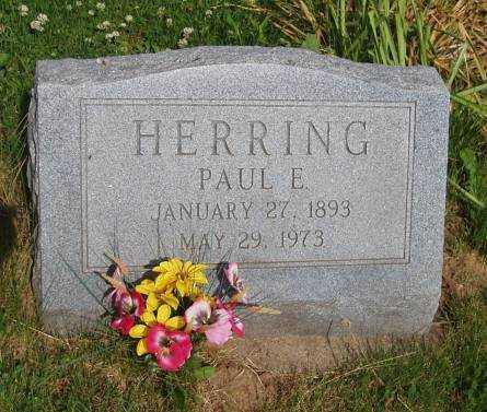 HERRING, PAUL E. - Johnson County, Iowa   PAUL E. HERRING