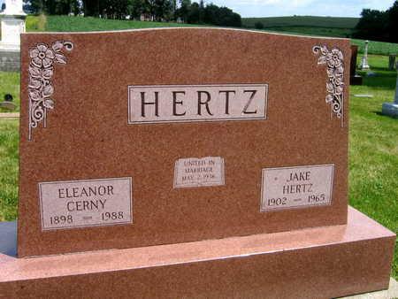 CERNY HERTZ, ELEANOR - Johnson County, Iowa | ELEANOR CERNY HERTZ
