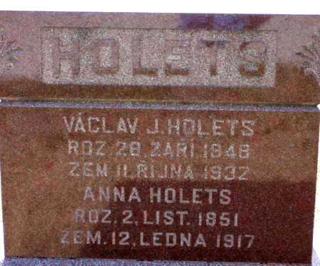 HOLETS, VACLAV (WESLEY) - Johnson County, Iowa | VACLAV (WESLEY) HOLETS
