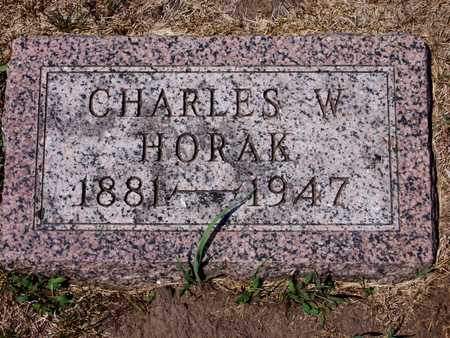 HORAK, CHARLES - Johnson County, Iowa | CHARLES HORAK