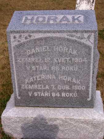 HORAK, DANIEL - Johnson County, Iowa | DANIEL HORAK