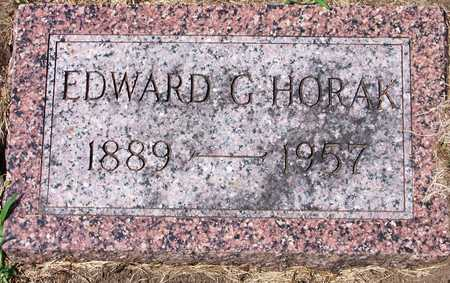 HORAK, EDWARD - Johnson County, Iowa | EDWARD HORAK