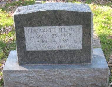 IFLAND, ELIZABETH - Johnson County, Iowa | ELIZABETH IFLAND