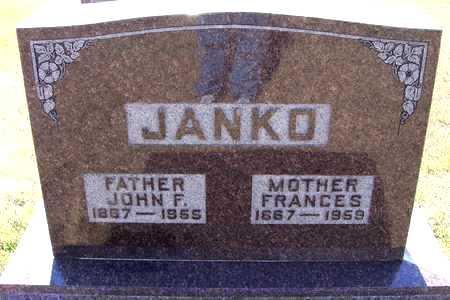 JANKO, JOHN - Johnson County, Iowa   JOHN JANKO