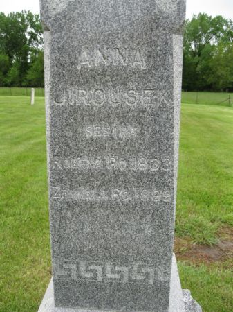 JIROUSEK, ANNA - Johnson County, Iowa   ANNA JIROUSEK